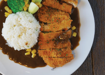 Japanese Curry Chicken on Rice